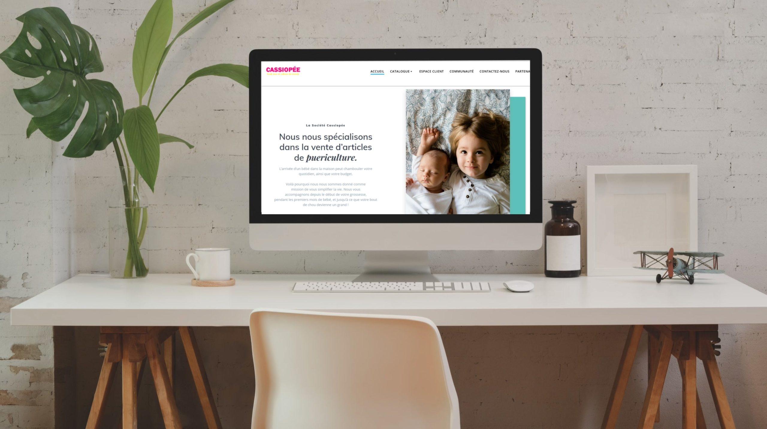 Site web Cassiopée