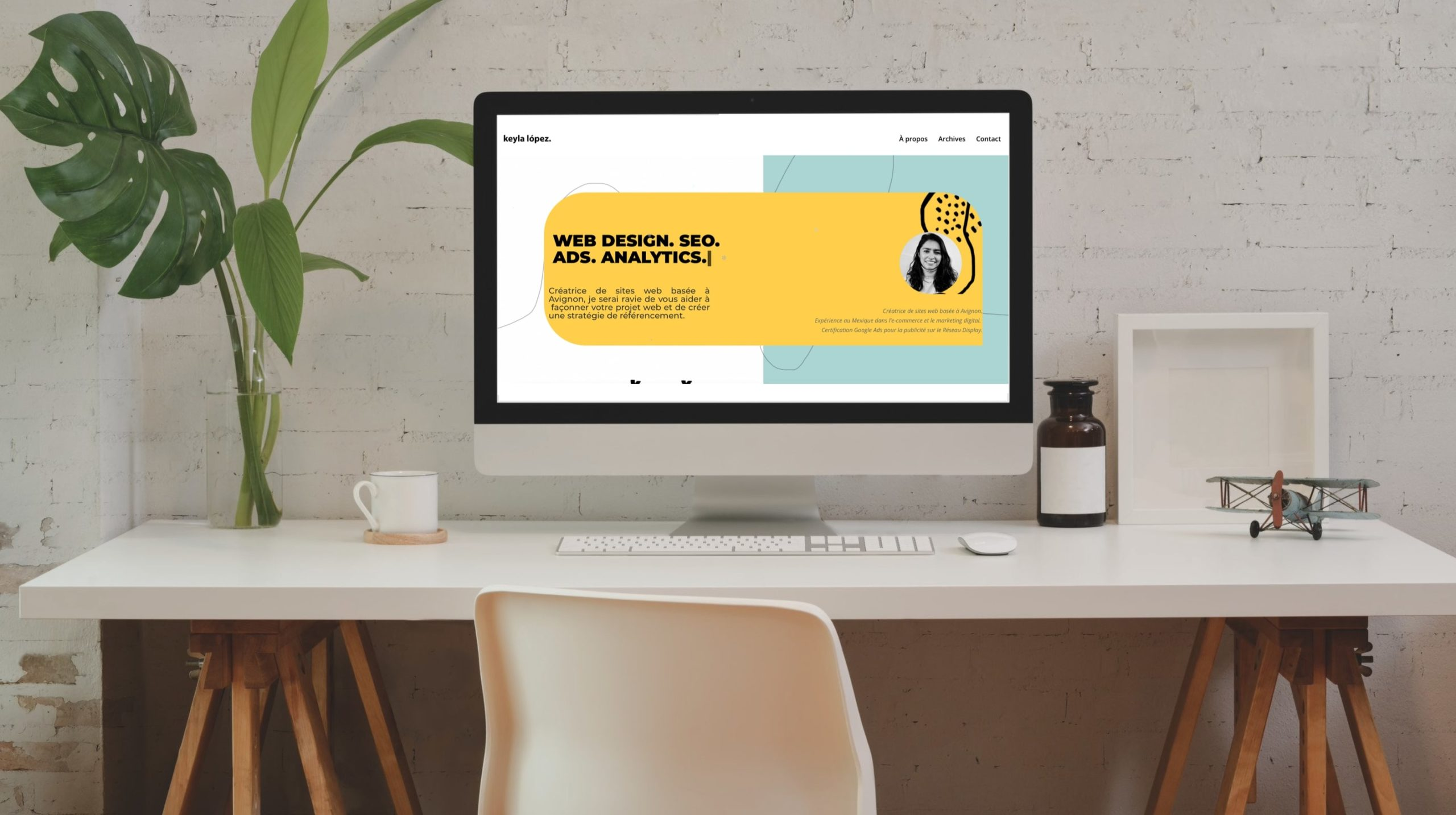 Site web Keyla Lopez