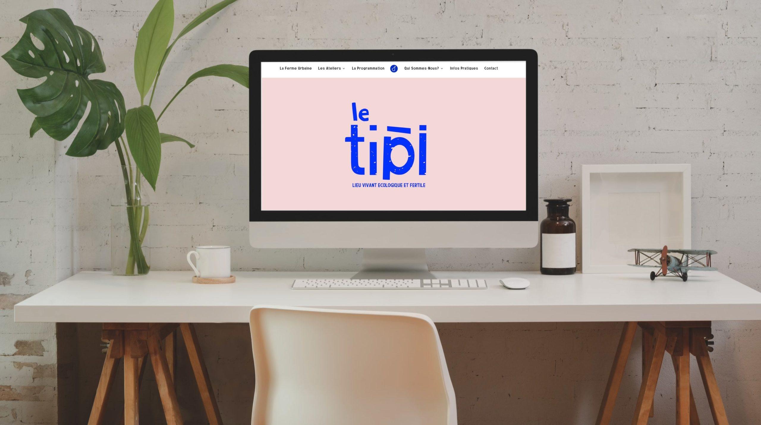 Site web Le site du Tipi