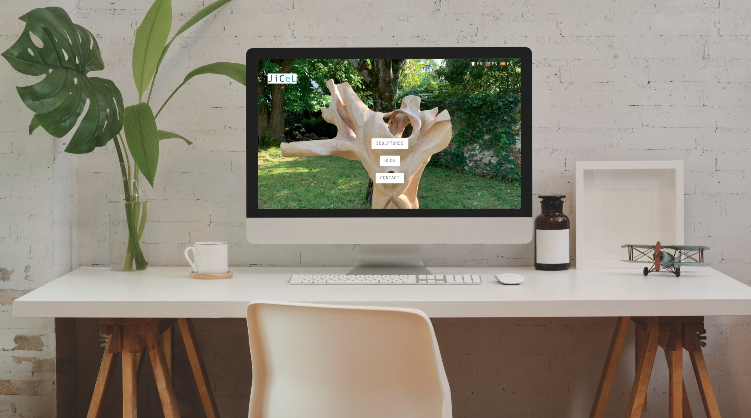 Site web Sculpture JiCeL