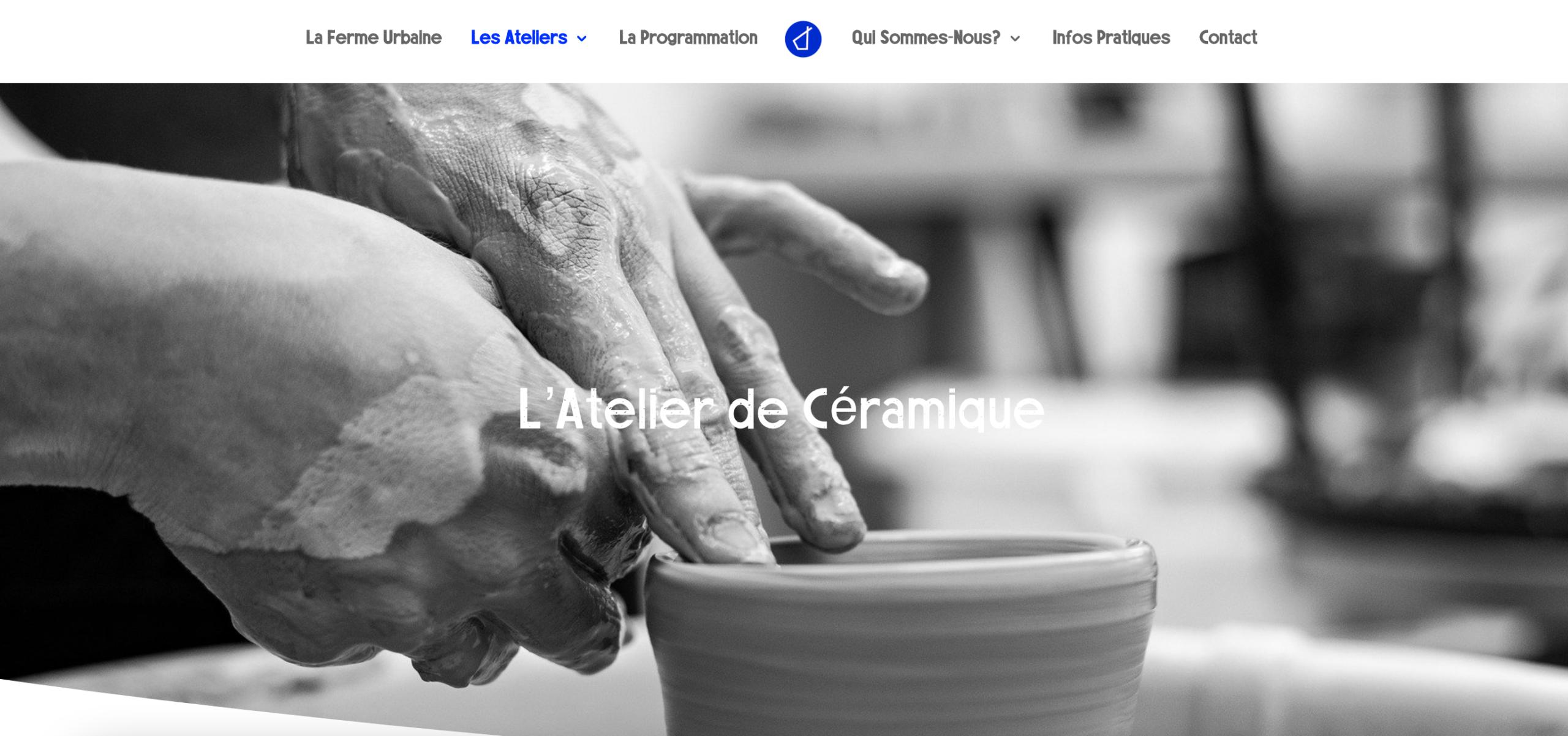 L'atelier de céramique - Le site du Tipi