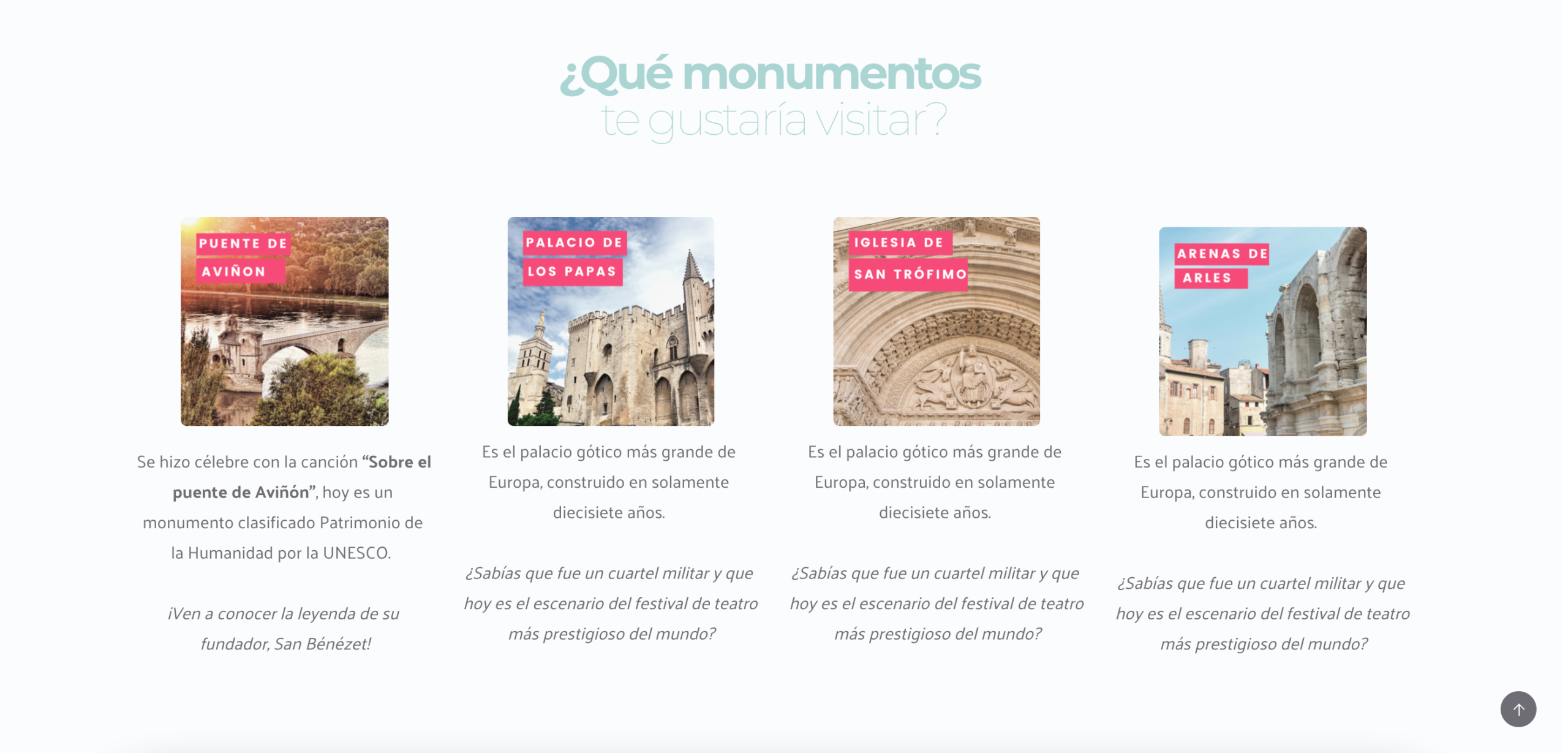Monumentos - Las visitas guiadas de Celeste